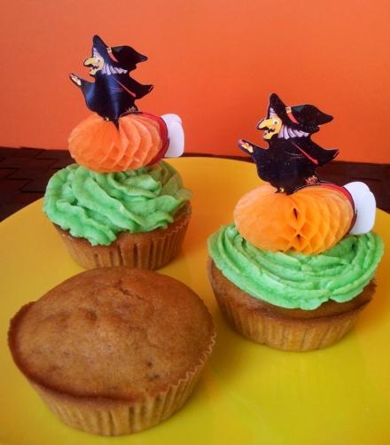 Cupcakes, Pumpkin, calabaza, halloween
